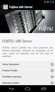 FUJITSU Value Calculator - náhled