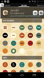 Slender Icon Pack v1.8