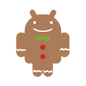 Gingerbread (ADW Theme) logo