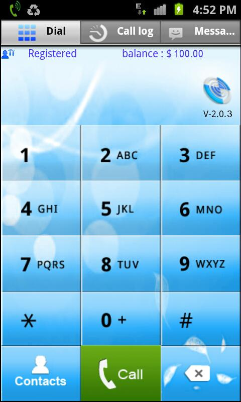 Bansberry Android Dialer - screenshot