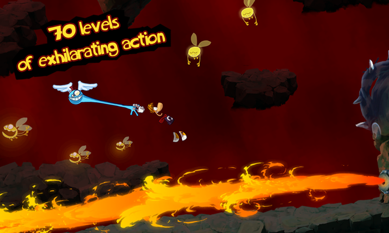 Rayman Jungle Run- screenshot