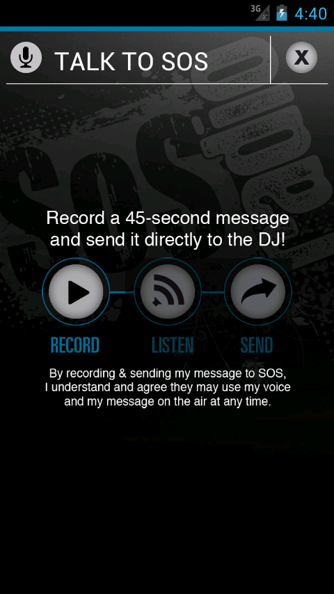 SOS Radio for Life - screenshot