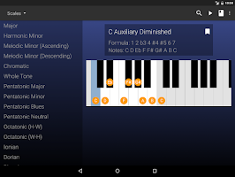 Screenshot of My Piano Assistant