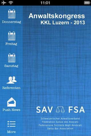 SAV Anwaltskongress 2013