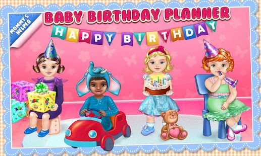 Baby Birthday Party Planner