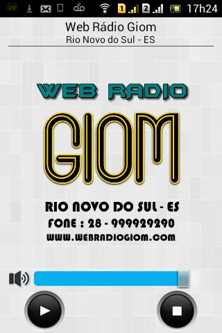 Web Rádio Giom