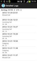 Screenshot of Call Log Manager