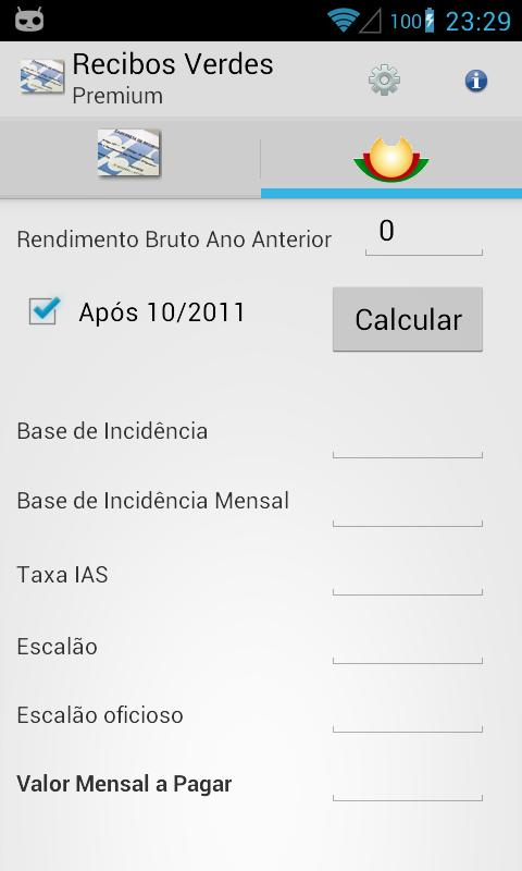 Recibos Verdes Premium - screenshot
