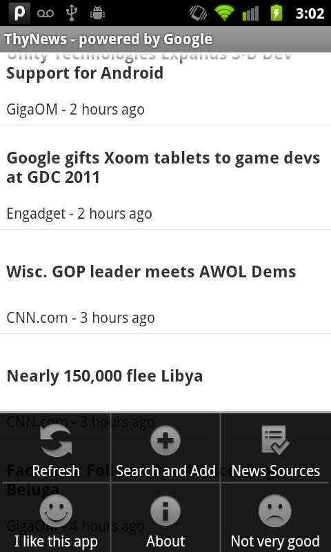 ThyNews for Android - screenshot