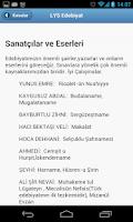 Screenshot of LYS Ders Notları
