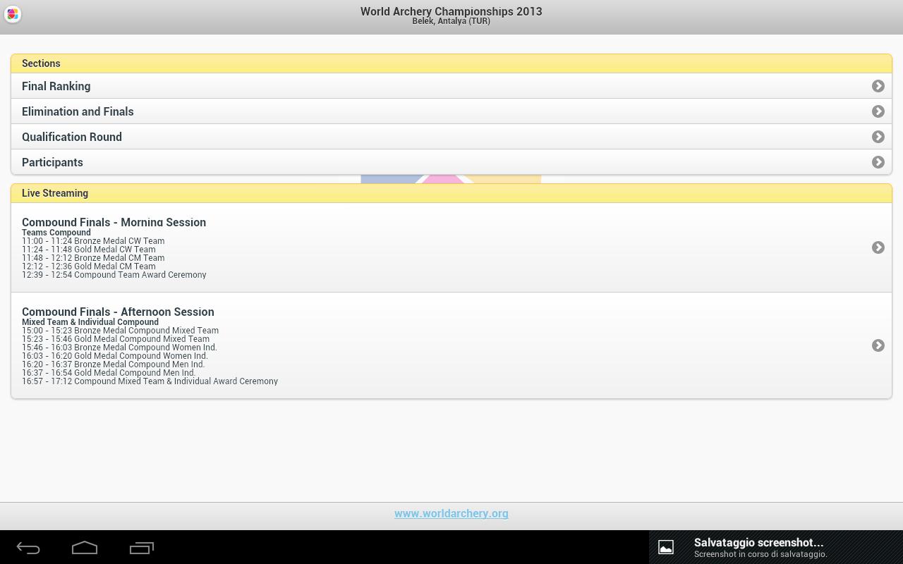World Archery Live - screenshot