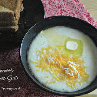 Incredibly Creamy Grits.