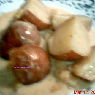 Crock Pot Irish Potatoes.