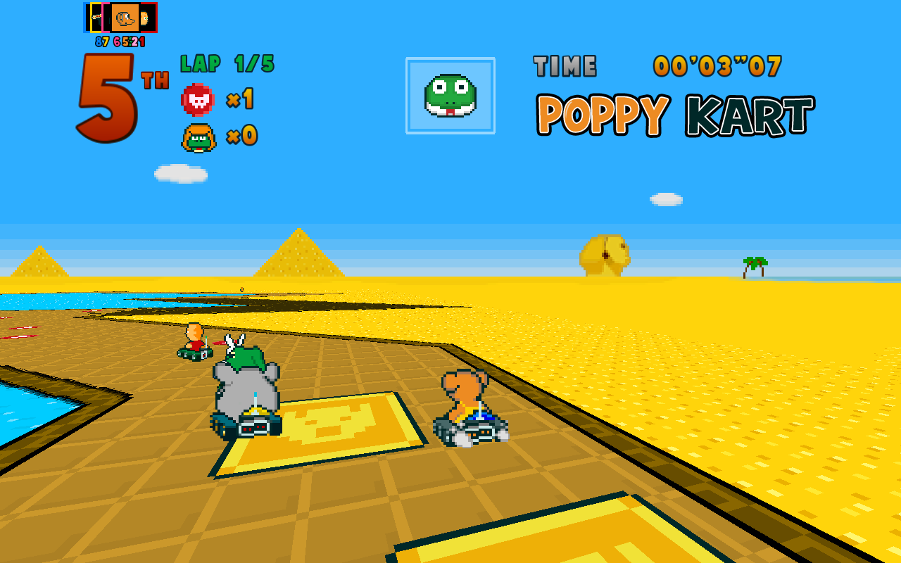 Poppy Kart - screenshot