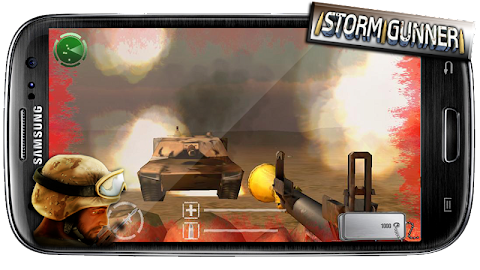 Storm Gunner HD: War Combat Screenshot 1