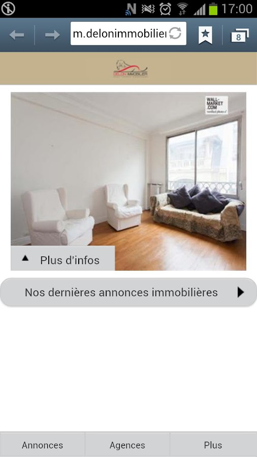 DELON IMMOBILIER - screenshot