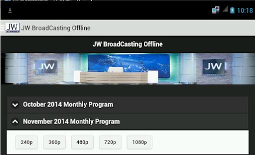 JW Broadcasting Offline   FREE Android app market