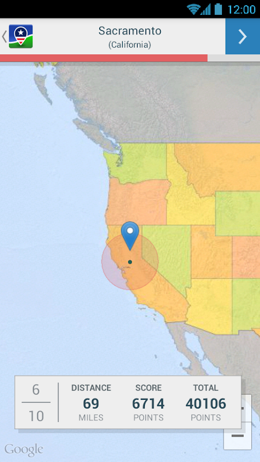 US States and Capitals Quiz  Android Apps on Google Play