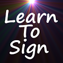 Learn to Sign icon