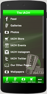 The IAOH Official Haters App- screenshot thumbnail