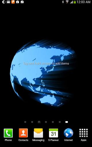 Glowing World Live Wallpaper