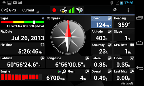 Harry's LapTimer Petrolhead screenshot 2
