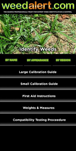 Weed Alert Mobile App