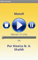 Screenshot of Manzil Audio