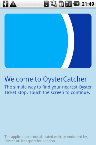 OysterCatcher - screenshot