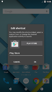 Apex Launcher – Miniaturansicht des Screenshots