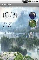 Screenshot of Eorzea Clock