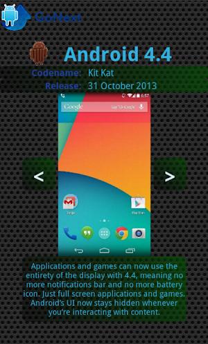 Android Upgrade Go Next! apk screenshot