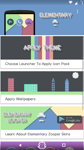 Elementary Icon Pack