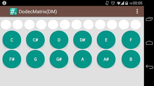 DodecMatrix - Genera matriz