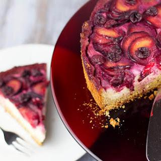 Sour Cherry and Plum Pie