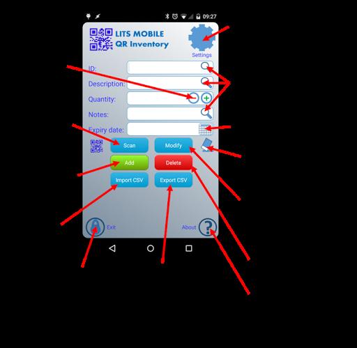 QR Bar Code Inventory Lite