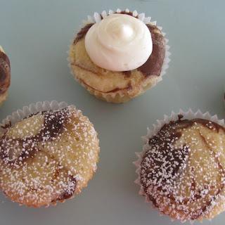 Mini Marble Cupcakes