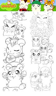 Game Coloring Book Dora Hamster APK For Windows Phone