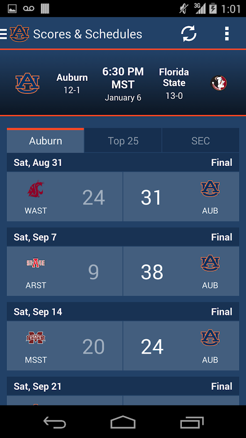 Auburn Gameday - screenshot