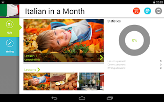 Screenshot of Italian in a Month Free