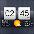 App Sense Flip Clock & Weather version 2015 APK