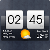 Download Sense Flip Clock & Weather APK to PC