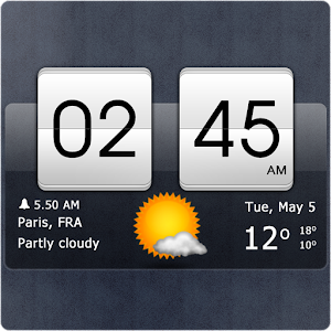 App Sense Flip Clock & Weather APK for Windows Phone