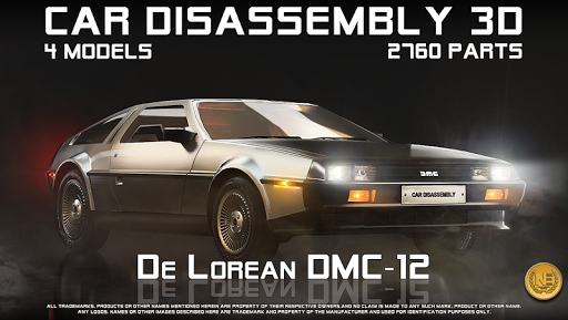 Car Disassembly 3D image   12