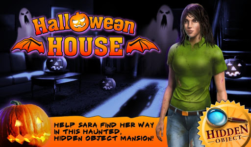 Halloween House Hidden Objects