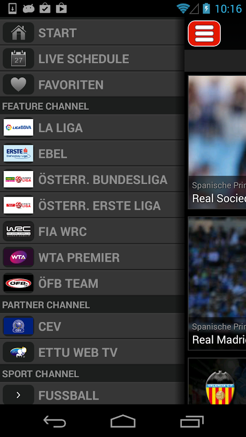 LAOLA1.tv - screenshot
