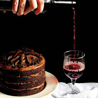 {Red Wine Chocolate Cake}