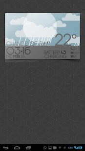 WEATHER CARDS UCCW MNIMALSKIN - screenshot thumbnail