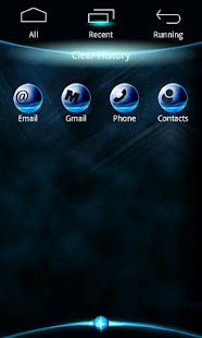 BlueZ Theme GO Launcher EX - screenshot thumbnail