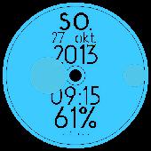 Discoid - UCCW circle clock